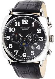 german watches the coolest watches from watches com ingersoll sun moon automatic black steel limited edition in1211bk