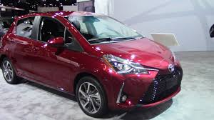 2018 toyota vitz. Delighful Toyota 2018 Toyota Yaris  First Look NYIAS Throughout Toyota Vitz O