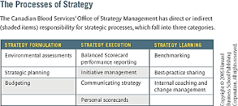 The Office Of Strategy Management