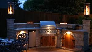 outdoor kitchens and fireplaces deckscapes of virginia create customized outdoor kitchen refrigerator barbeque warming rack smoker drawer kitchen
