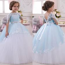 best 25 princess dresses for kids ideas on pinterest princess Wedding Dress Rental Online India 2016 little princess toddler pageant dress lace appliques wedding prom ball gowns birthday communion kids dress Wedding Dresses for Rent