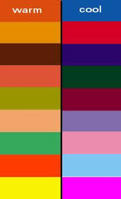 Warm Colour Chart What Colors Are Warm Or Cool Aromaleigh Swan Song