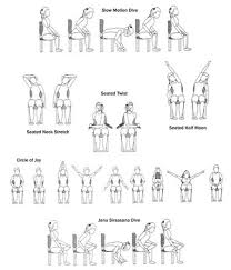 fitness friday incorporate yoga daily with amelia guest post chair yoga chair yoga yoga and exercise