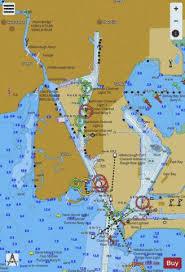 Tampa Bay Marine Chart Tampa Bay Northern Section Tampa Harbor Inset Marine