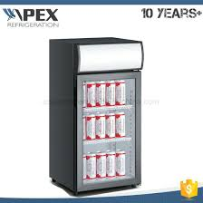countertop mini refrigerator fan assisted cooling single door portable mini fridge