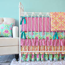 full size of bedding hot pink and lime green elephant and giraffe crib bedding glenna