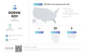 Dorine Roy, (954) 929-8276, 2424 Monroe St, Hollywood, FL   Nuwber