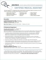 Resume Examples For Medical Assistant Delectable Certified Medical Assistant Resume Sample Customizing The Openstack