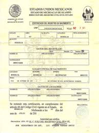 Mexican Birth Certificate Translations - Marriage Certificate ...