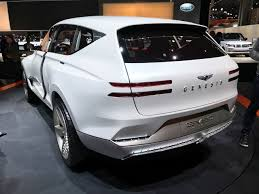 2018 genesis suv gv80. fine 2018 currently the genesis lineup consists of midsize g80 previously known as  hyundai genesis and fullsize g90  throughout 2018 genesis suv gv80