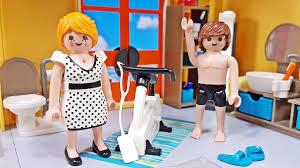 Playmobil Neues Badezimmer 9268 Für Playmobil Modernes Wohnhaus