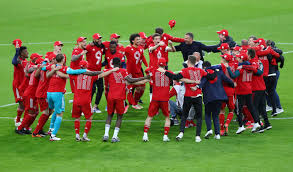 By csmith1919 may 25 50 comments / new. Bayern Celebrate Title Win By Demolishing Gladbach Reuters