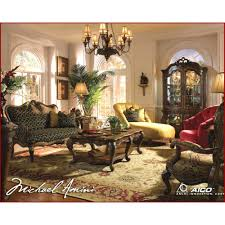 Michael Amini Living Room Furniture Palais Royale Living Room Set By Michael Amini 3 Pc D2d