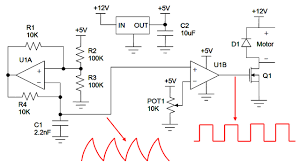 dc motor control electroboom pwm control for tuning dc motor speed