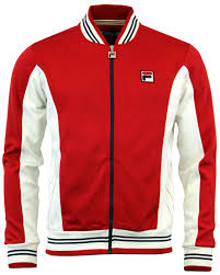 fila jacket. legends settanta fila vintage retro borg track top fila jacket