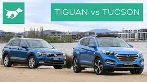 2017 Volkswagen Tiguan vs 2017 Hyundai Tucson Comparison Review ...