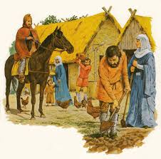 Image result for anglo saxon village common licence