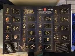 Australian Zelda Breath Of The Wild Amiibo Guide Printed