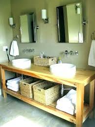 open shelving bathroom storage open shelving bathroom vanity shelf vanities intended for modern home with bottom