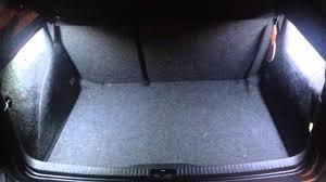 VW golf mk4 with my custom made trunk light mod. - YouTube