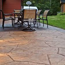 get stamped concrete patio at the best