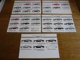 Details About Nissan 300zx Colour Chart Car Brochures 9