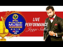 jaggi sidhu song makeup breakup live performance at ptc punjabi award 2016