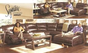 ashley leather living room furniture. Ashley Furniture 42401 Living Room Set - Sectional Leather E