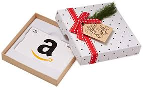 Gift Cards For Christmas Amazon Com Gift Card In A Holiday Sprig Box