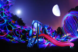 light painting lens swap james deluna moon