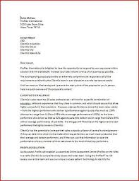 Sales Proposal Letter Custom Sales Proposal Cover Letters Forteeuforicco