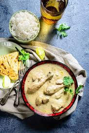 considered to be one of the must try curries of india safed murg korma is