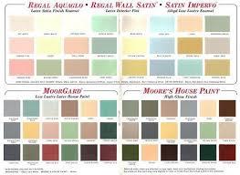 Benjamin Moore Paint Color Wheel Chart 60 Colors From Benjamin Moores 1969 Paint Palette Bedroom