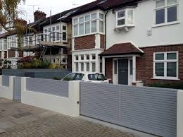 Small Picture modern house gates and fences designs Modern House