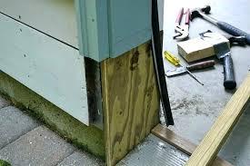 how to repair a door frame garage door frame repair how to replace a door jamb