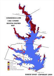 Hazard Map Lake Conroe Texas