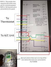 thermostat wiring no white wire not lossing wiring diagram • i have a honeywell pc8900 installed at home the thermostat for the rh justanswer com honeywell thermostat wiring 4 wire thermostat wiring