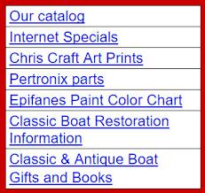 Epifanes Colour Chart Antique Boat Center1 Acbs Antique Boats Classic Boats
