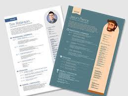free inspiring resume templates   design knockfree resume templates