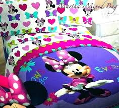 mickey mouse full size bedding sets twin queen king pertaining to comforter minnie and bed