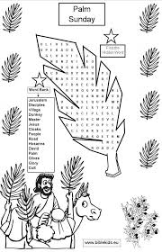 Palm Sunday Activity Sheets Palm Sunday Bible Coloring Pages Whats