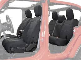 king 4wd 11010801 black neoprene seat