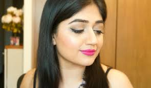 fuchsia lips makeup tutorial