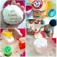 last week i posted this picture of us making our own kinetic sand if you don t have an idea yet of what kinetic sand is here is the waba fun website