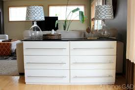 Small Picture White IKEA Dresser Hacks And Transformations