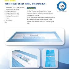 Table Cover Sheet Kits Cleaning Kit Sn002
