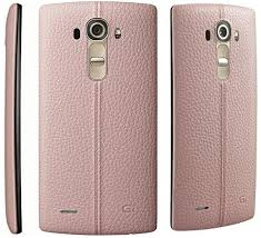 lg g4 vs986 32gb 16mp 4g lte android smartphone for verizon pink leather back good condition used cell phones verizon cell phones