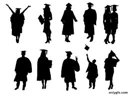 Graduation Cover Photo Top 10 Graduation Silhouette Cover Library