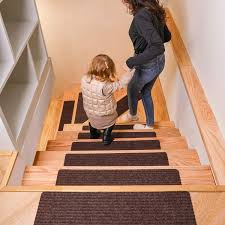 DanceWhale Set of <b>15 Carpet Stair Treads</b>- Buy Online in Costa ...