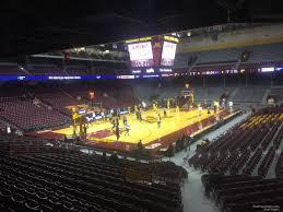Williams Arena Minnesota Seating Chart Williams Arena Minnesota Section 120 Rateyourseats Com